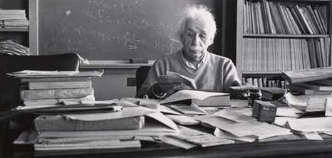 Albert Einstein Once Asked If A Cluttered Desk Is Sign Of Mind What Then An Empty