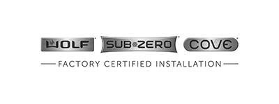 Sub-Zero, Wolf, and Cove